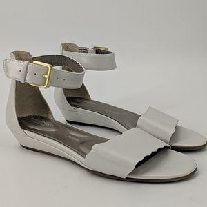 ROCKPORT Scalloped Ankle Strap Sandals
